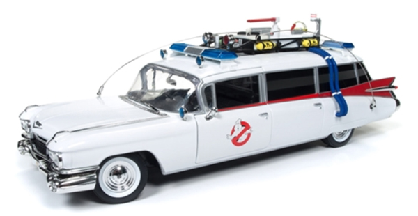 AWSS118 - Auto World Ghostbusters 1959 Cadillac Ambulance Ecto 1 Ghostbusters