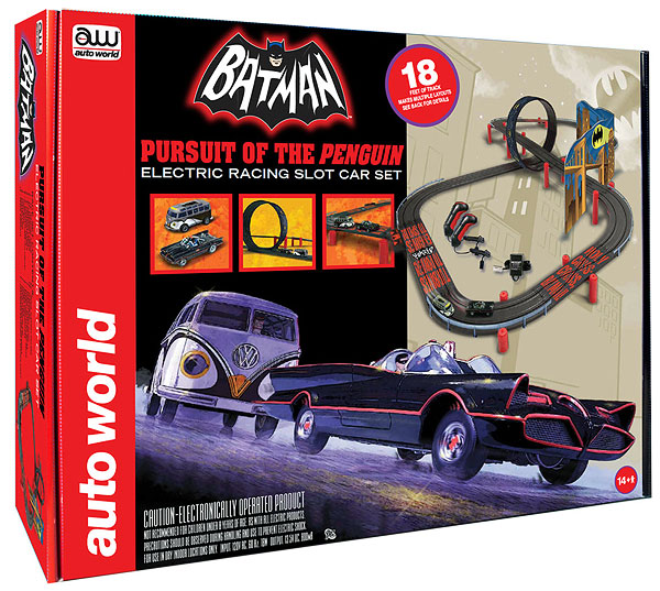 SRS258 - Auto World Batman Pursuit Of