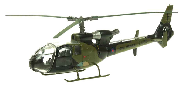24007 - Aviation 72 Westland Gazelle Royal Marines Falklands 1982