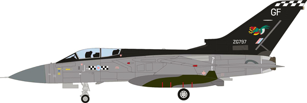 51002 - Aviation 72 Panavia Tornado F3 RAF ZG797 43 Sqn