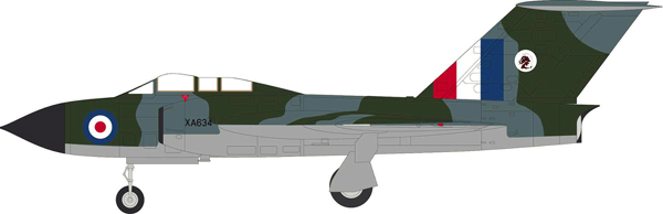 54001 - Aviation 72 Gloster Javelin FAW 4 XA634 EX LEEMING