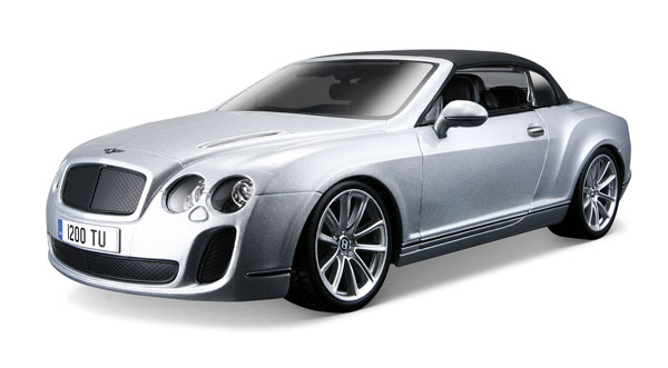 11037SL - Bburago Diecast Bentley Continental Supersports Convertible