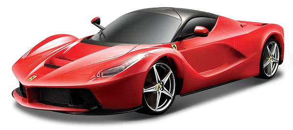 16001R - Bburago Diecast LaFerrari in Red Race and Play Series