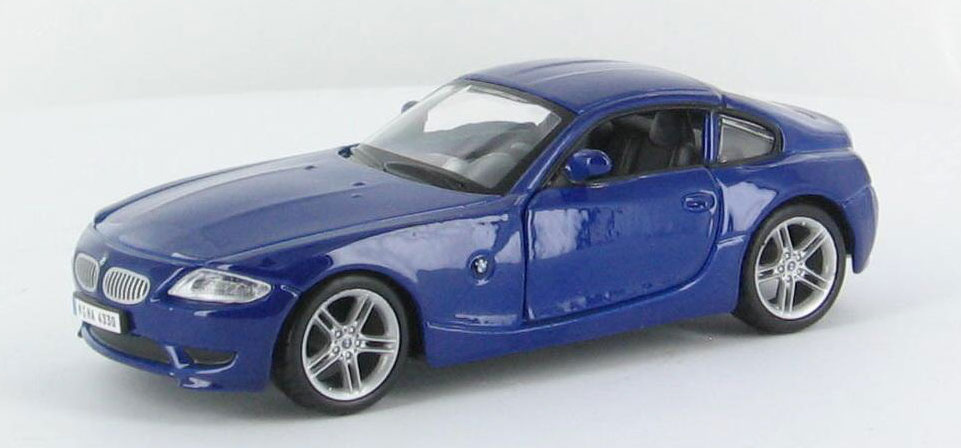 43100-D - Bburago Diecast Street Fire Collection BMW Z4M Coupe