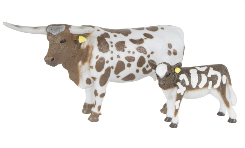 BC405 - Big Country Longhorn Cow and Calf Compatible