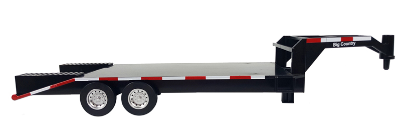 BC427 - Big Country Flatbed Gooseneck Trailer