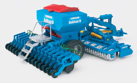 02026 - Bruder Toys Lemken Solitair 9 Sowing Combination Pro Series