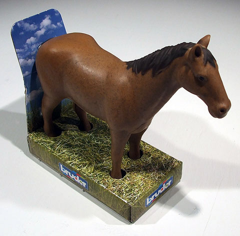 02306-D - Bruder Toys Light Brown Horse Extra horses to fill