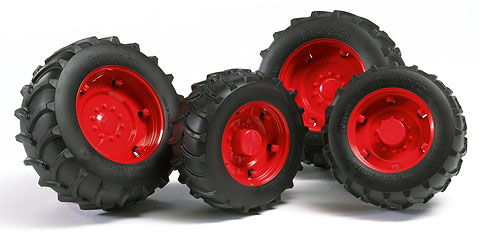 02322 - Bruder Toys Twin Tires