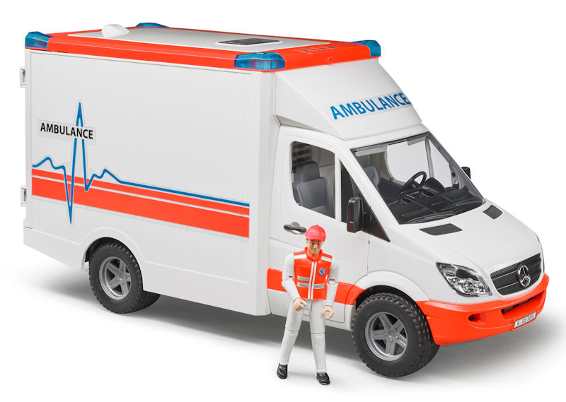 02536 - Bruder Toys Mercedes Benz Sprinter Ambulance