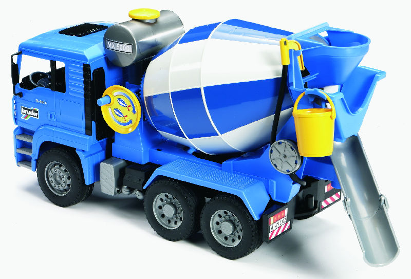 02744 - Bruder Toys MAN Cement Mixer