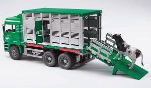 02749 - Bruder Toys Cattle Transportation MAN Truck