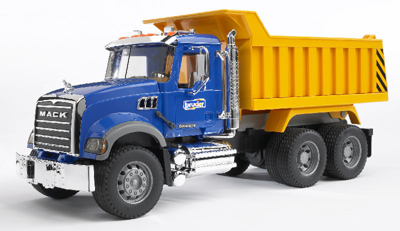 02815 - Bruder Toys MACK Granite Dump Truck Pro Series colors