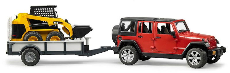 02925 - Bruder Toys Jeep Wrangler Unlimited Rubicon