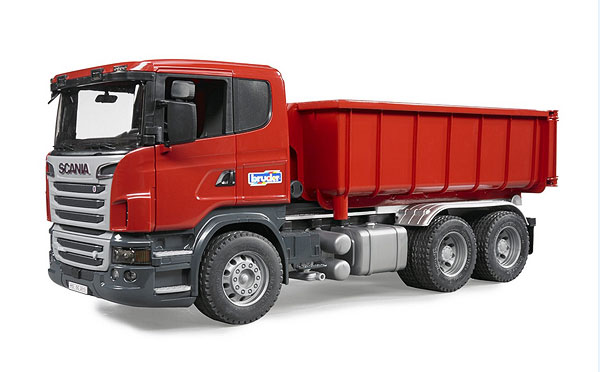 03522 - Bruder Toys Scania R Series Tipping Container Truck Folding