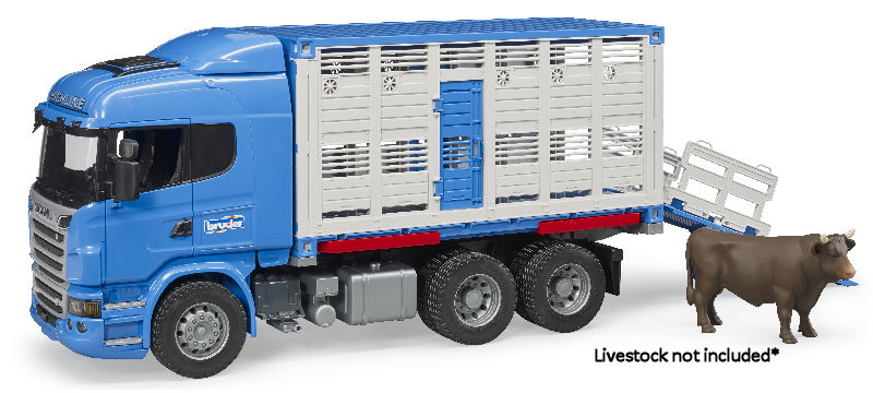 03549 - Bruder Toys Scania R Series Cattle Transport Truck
