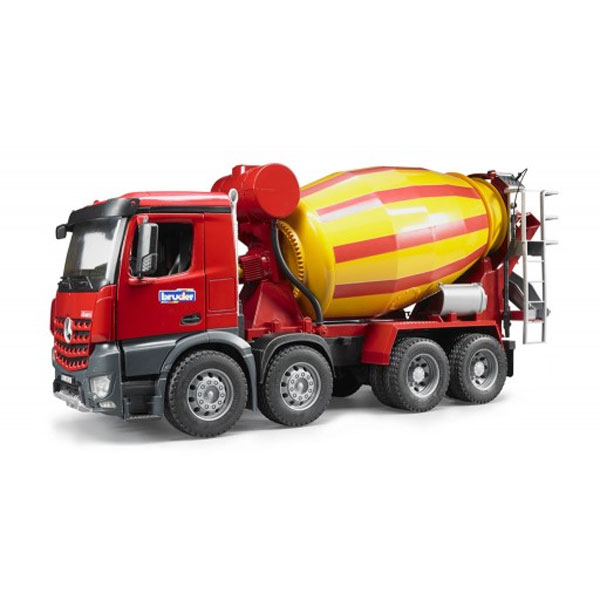 03654 - Bruder Toys Mercedes Benz Arocs Cement Mixer Truck Manufactured