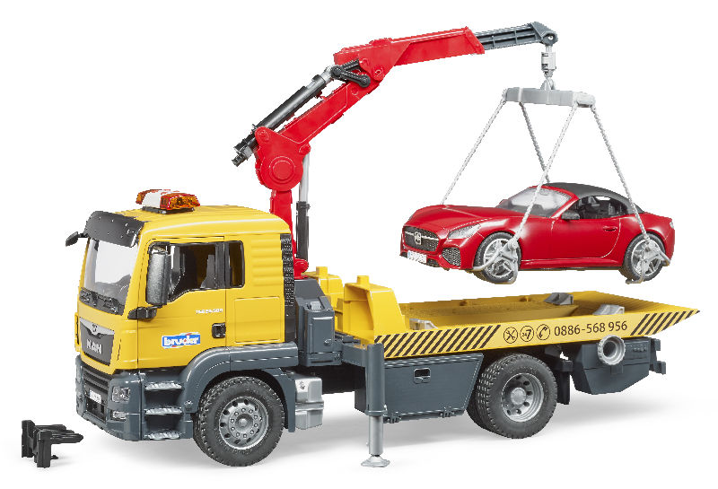 03750 - Bruder Toys MAN TGS Tow Truck