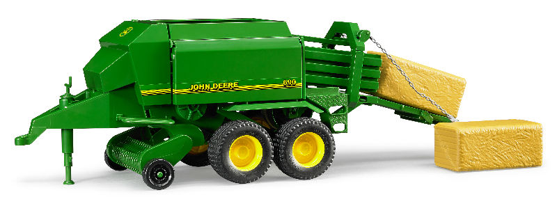 09800 - Bruder Toys John Deere 690 Large Square Baler High