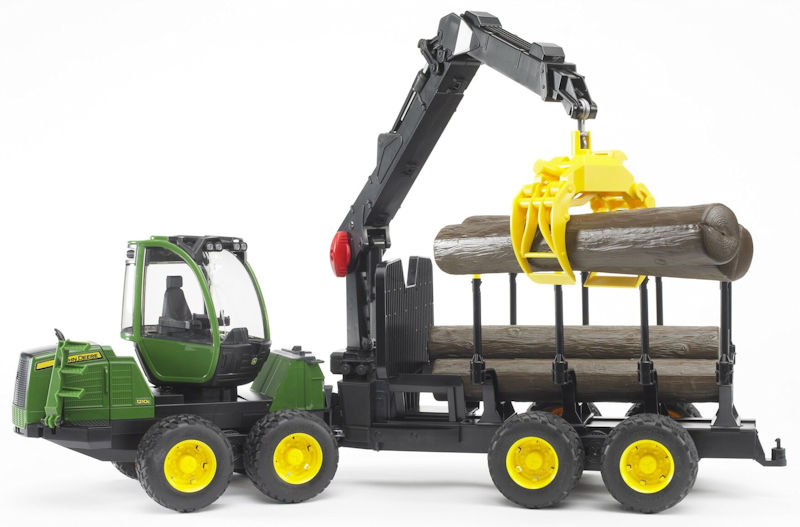 09805 - Bruder Toys John Deere 1210E Forwarder High Impact ABS
