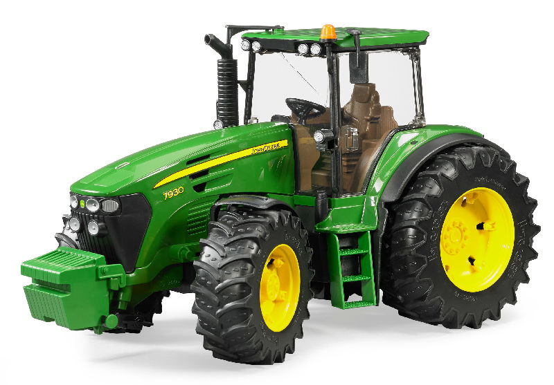 09806 - Bruder Toys John Deere 7930 Tractor High Impact ABS