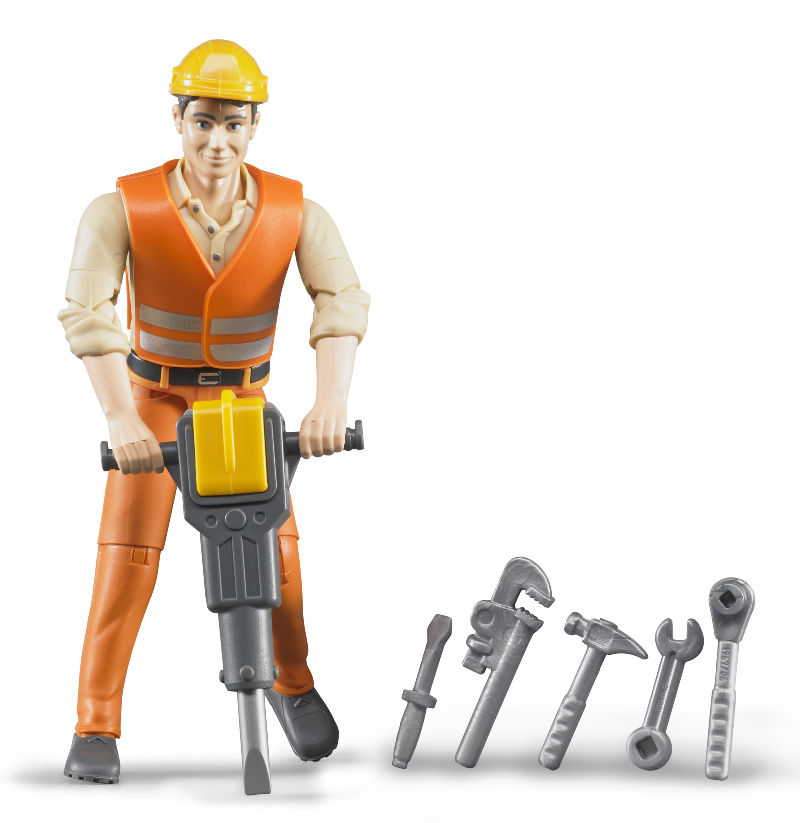 60020 - Bruder Toys Construction Worker