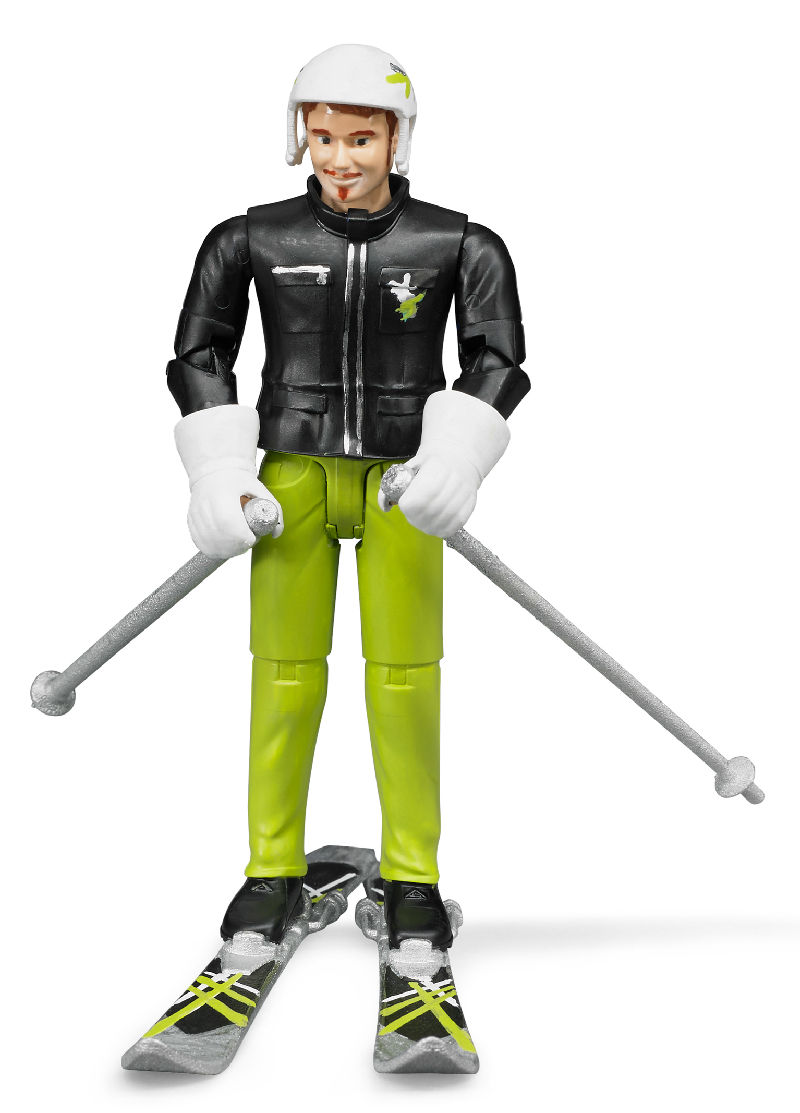 60040 - Bruder Toys Skier with Accessories