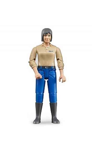 60406 - Bruder Toys Women Driver_Construction Worker