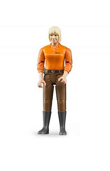 60407 - Bruder Toys Women Driver_Construction Worker