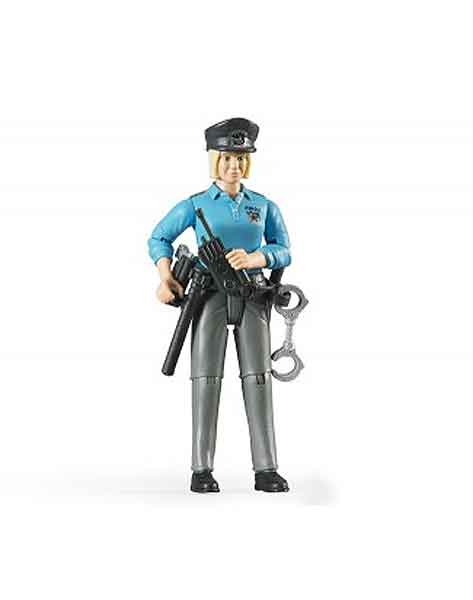 60430 - Bruder Toys Policewoman with Light Skin and Accessories