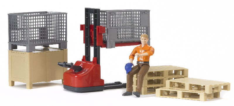 62200 - Bruder Toys Logistics Set