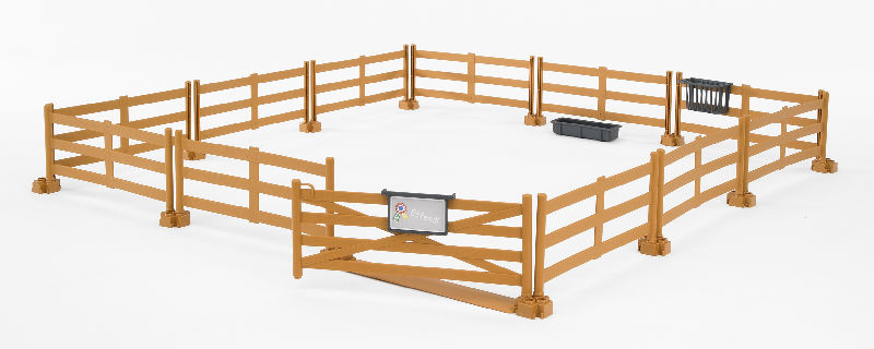 62604 - Bruder Toys Brown Pasture Fence