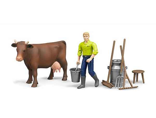 62605 - Bruder Toys Farming Figure Playset Man