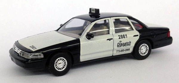 006553 - Busch Dispatch Taxi 1997 Ford Crown Victoria