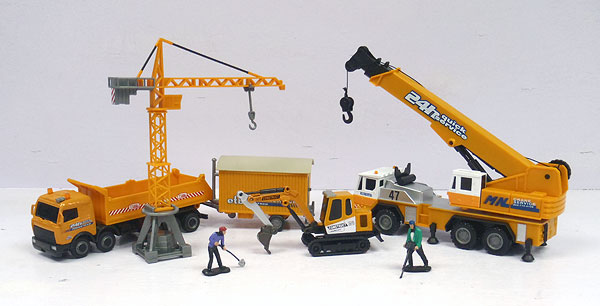 404-014 - Cararama Crane and Construction Gift Set