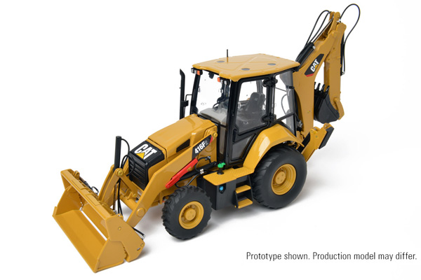 416F2 - CCM Caterpillar 416F2 Backhoe Loader Contractor Collection Precision