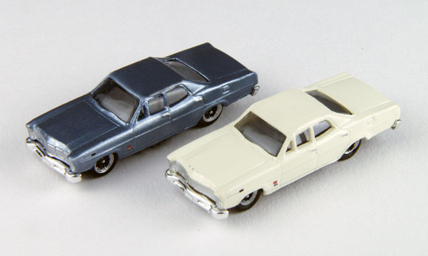 50355 - CMW 1967 Ford Sedans Set of 2 Mini