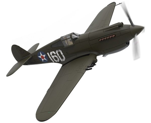 AA28101 - Corgi Curtiss P 40B Warhawk 160_15P 2nd