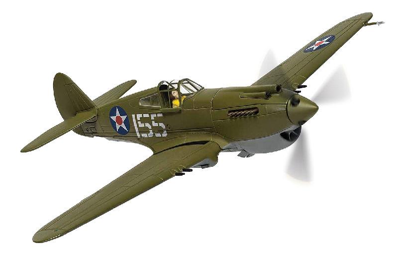 P40 Warhawk Pearl Harbor 80th Anniversary (1:72)