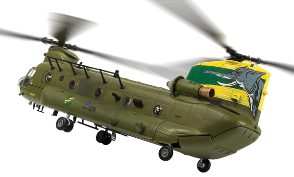 AA34214 - Corgi Chinook ZA683 27 Squadron 100 Years of