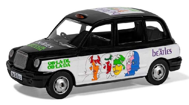 CC85931 - Corgi The Beatles London Taxi Ob La