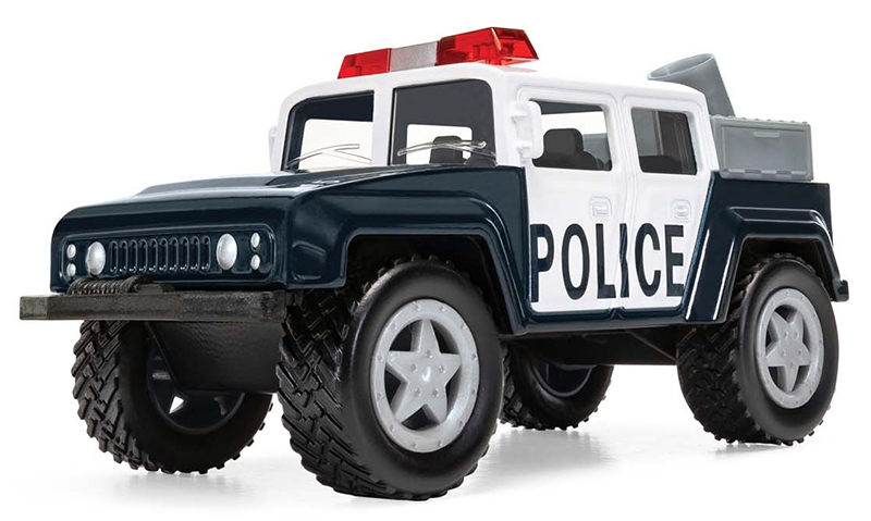 CH007 - Corgi Police Off Road Truck Corgi Chunkies Series