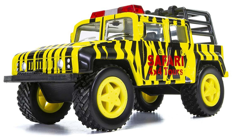 CH010 - Corgi Safari Tours Off Road Truck Corgi Chunkies