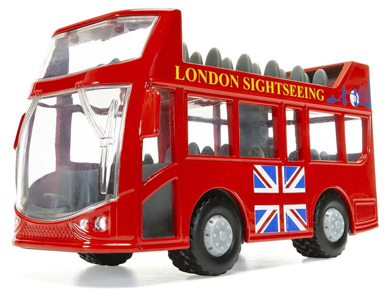 CH073 - Corgi Double Decker London Tour Bus Corgi Chunkies