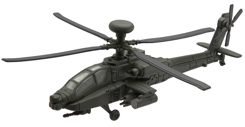 CS90623 - Corgi AH 64 Apache Attack Helicopter Corgi Showcase