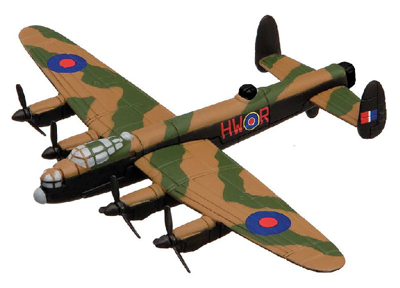 "Avro Lancaster Flying Aces (3-5"" unscaled)"