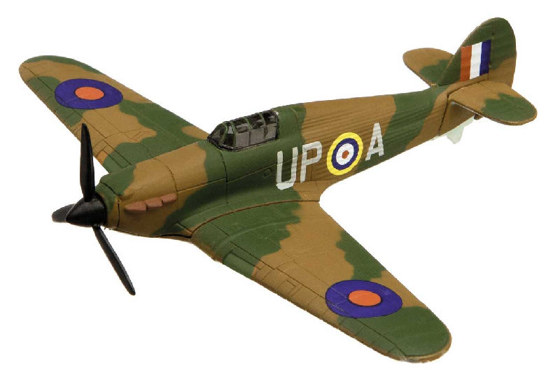 "Hawker Hurricane Flying Aces (3-5"" unscaled)"
