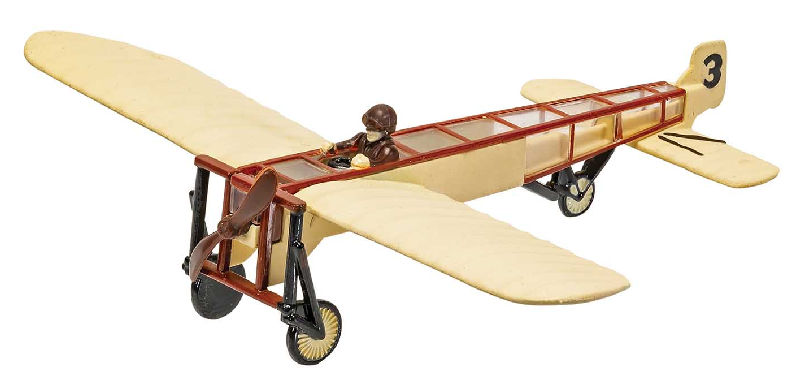 "Berliot Monoplane Smithsonian (3-5"" unscaled)"