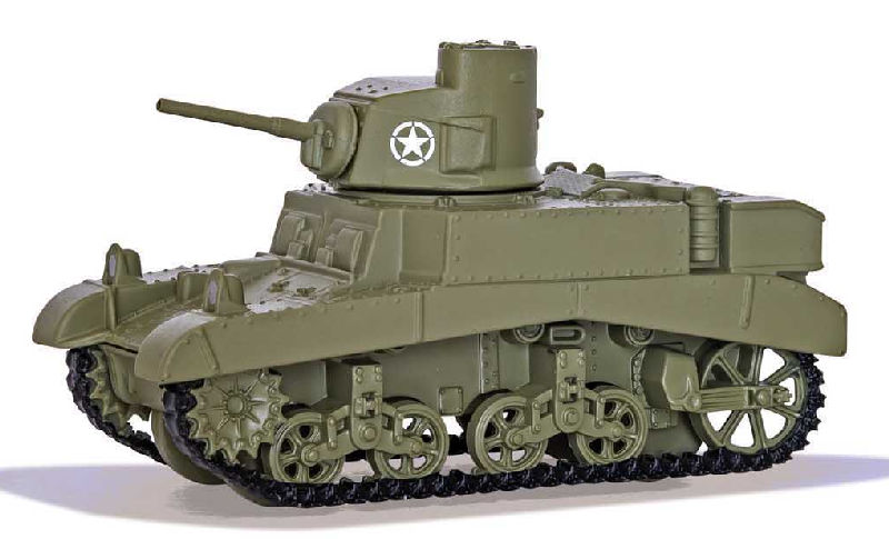 WT91209 - Corgi World of Tanks M3 Stuart