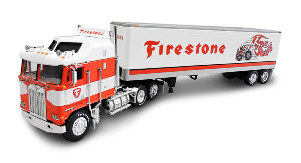 32957 - Die-Cast Promotions DCP Firestone I Love My Stones Kenworth